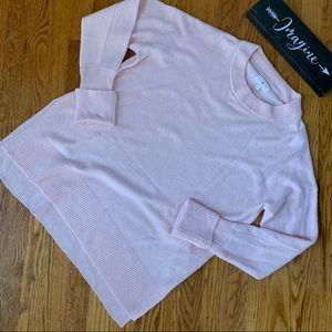 Lou & Grey Pink Merino Wool Sweater